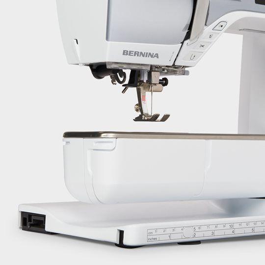 BERNINA 570 QE B570 Bern Pulfer kaufen Schweiz Nähen Nähmaschine Quilten