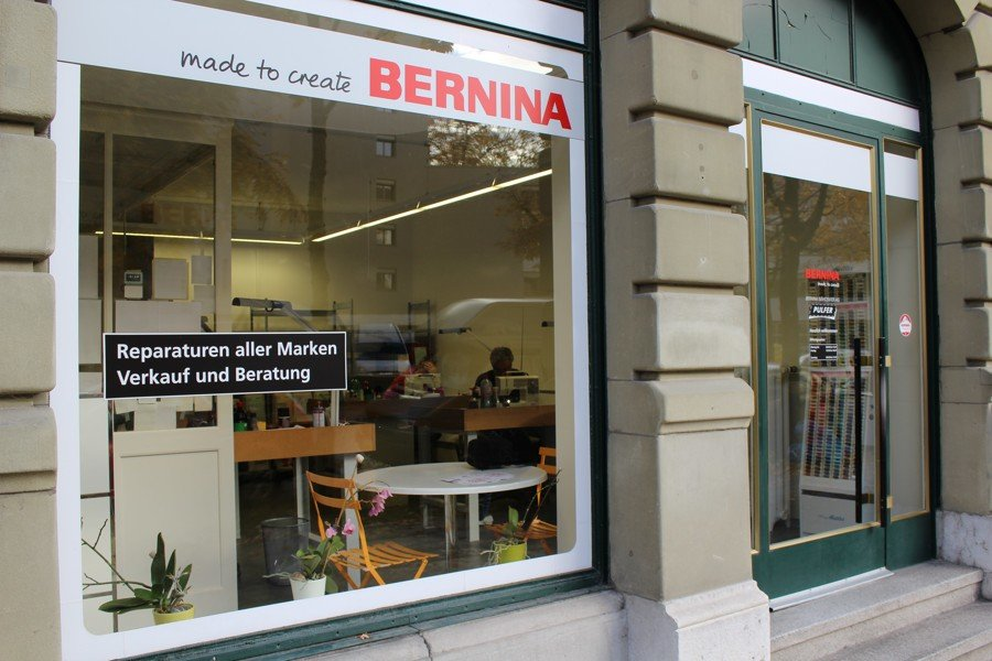 Bernina Nähmaschinen Werkstatt in Bern
