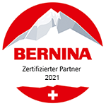 Pulfer BERNINA Bern ist ein zertifizierter BERNINA Händler