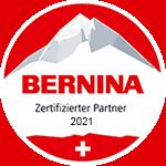 Pulfer BERNINA Bern Zertifizierung als offizieller Partner 2021